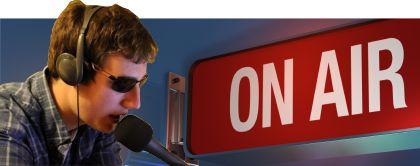 Právě ve studiu on-Air je Jakub Melín